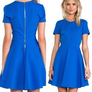 { Diane Von Furstenberg } Ivana Blue Dress